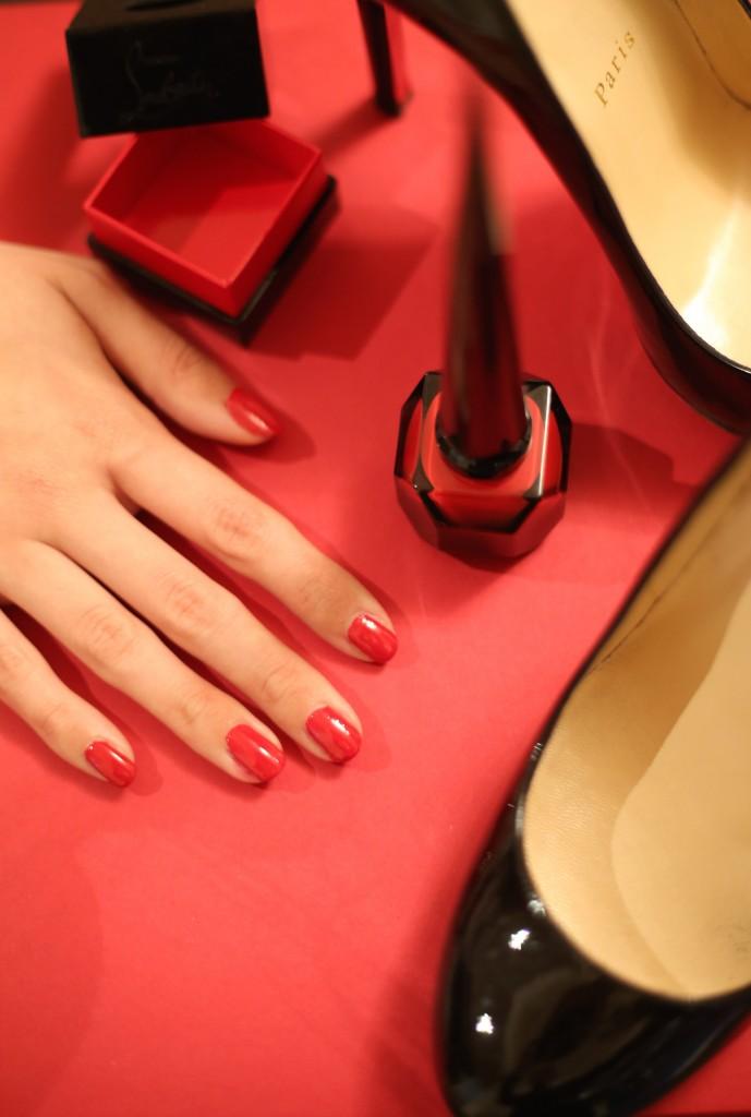 rouge louboutin nail polish
