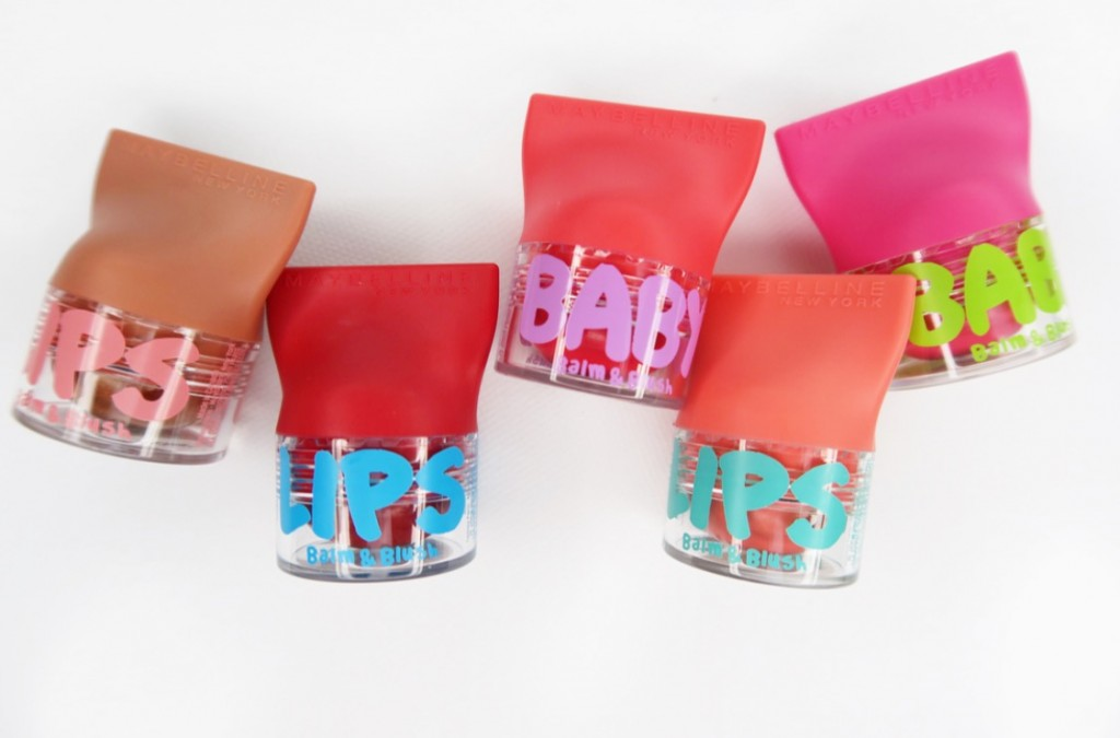 Maybelline Baby Lips Balm & Blush colori