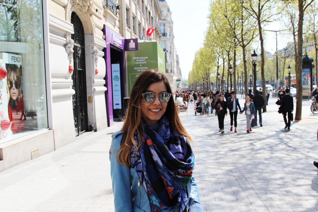 champs elysee parigi