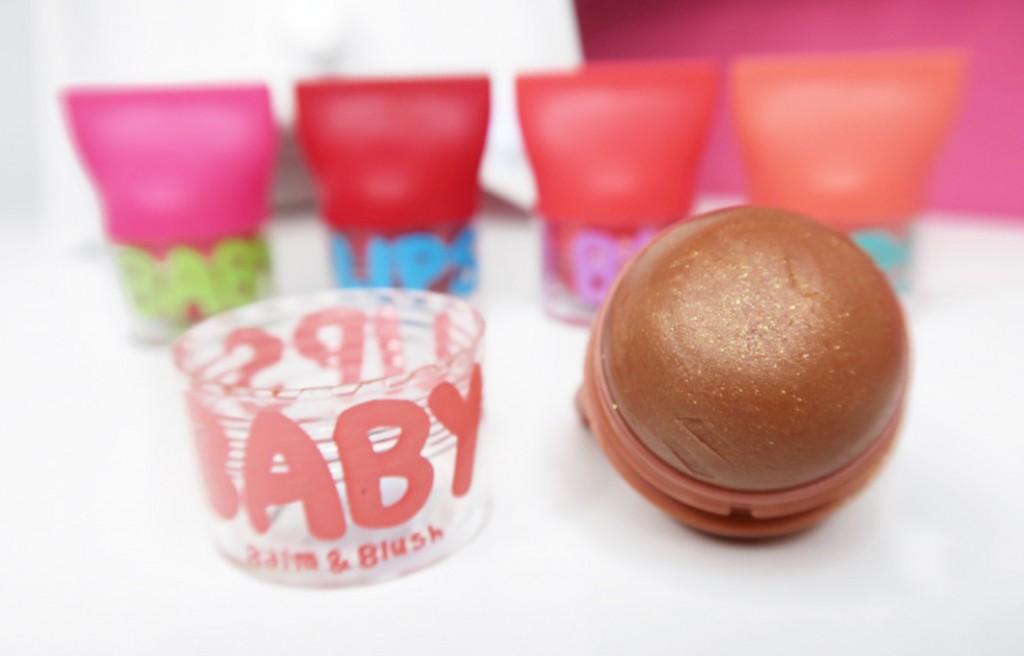 shimmering bronze Maybelline Baby Lips Balm & Blush