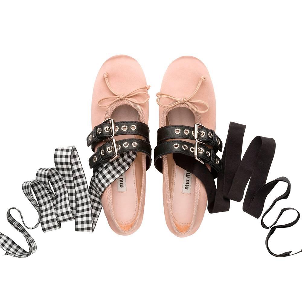 famoso marchio di stilisti bello e affascinante eccezionale gamma di stili e colori Le ballerine Miu Miu: un mix perfetto tra il classico e il punk!
