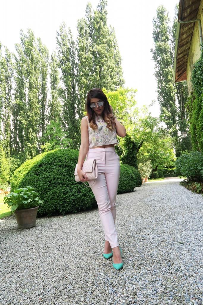 outfit primavera 2016 colori pastello
