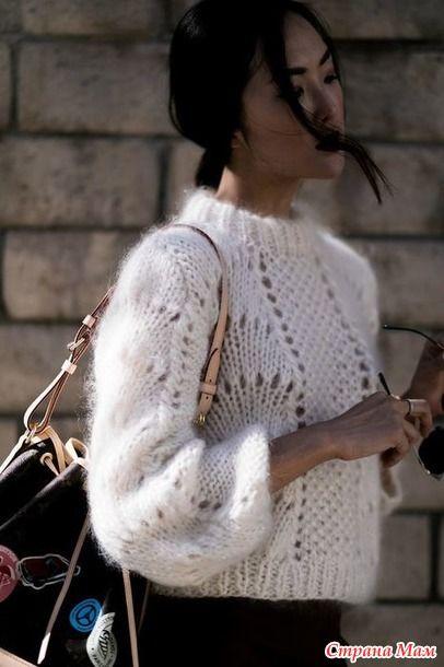 maglione oversize basse