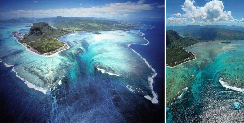 Cascata sottomarina Mauritius